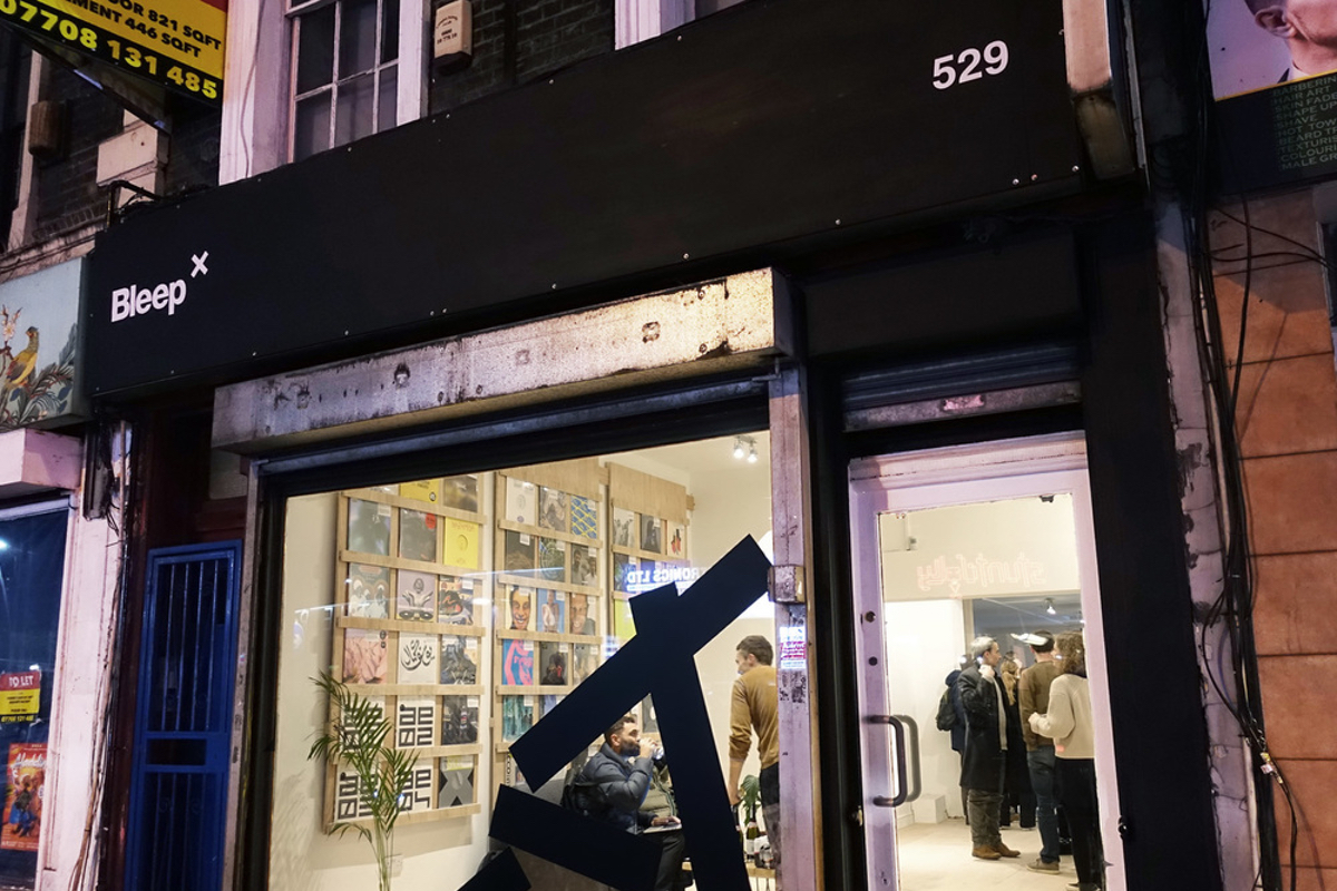 Bleep Opens East London Pop-up Store, Bleep X